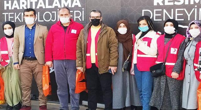 Sur Kızılay Yönetimi Dijital Gösterim Merkezi'ni Gezdi
