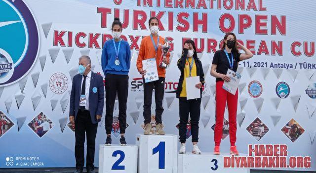 Avrupa Turnuvasından Madalyalarla Döndü