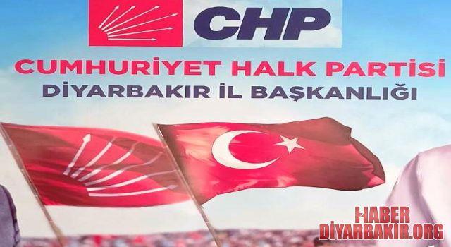 Diyarbakır CHP İl Başkanlığı'na Pankart Cezası