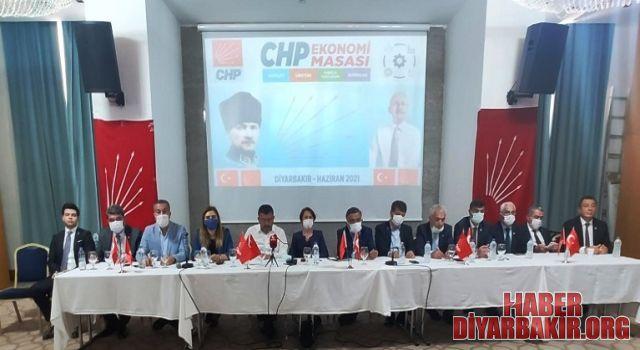 CHP Heyeti Diyarbakır'da Ekonomi Yoksulluk Ve Açlığı Konuştu