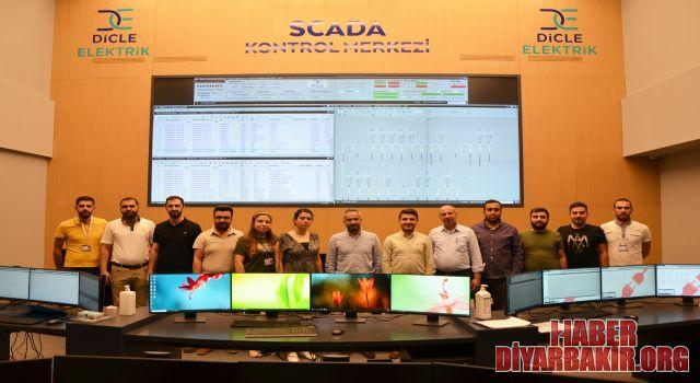 Dicle Elektrik 59 Milyon Liralık Yatırımla SCADA Merkezi Kurdu