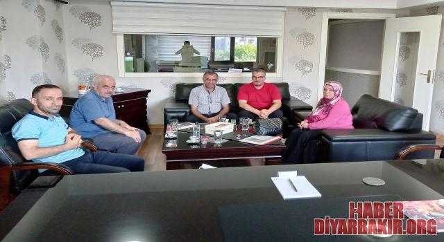"DEVA Partisinden Haberdiyarbakir.Org""a Ziyaret"