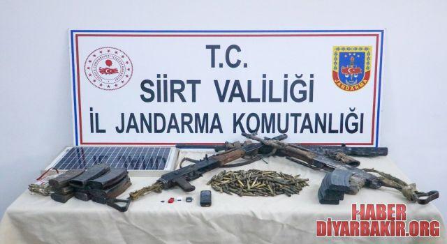 Etkisiz Hale Getirilen PKK'lılara Ait Silah Ve Mühimmat Ele Geçirildi
