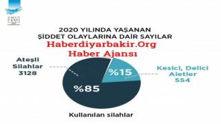 """2020 """" Türkiye""""nin Silahlı Şiddet Haritası"""""""