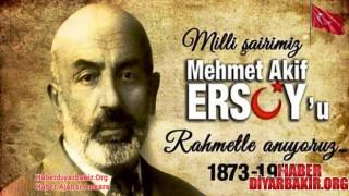 """Diyarbakır""""da İstiklal Marşının Yüzüncü Yıl Dönümü Kutlandı"""