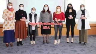Siirt'te 8 Mart Dünya Kadınlar Günü Kutlanıyor