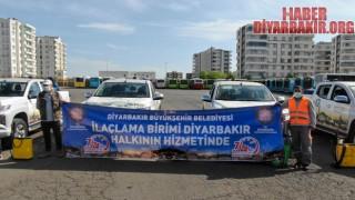 """Diyarbakır""""da İlaçlama Ordusu İşbaşında"""