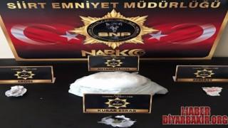 Siirt'te Uyuşturucudan 4 Kişi Tutuklandı