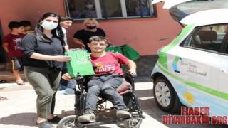 Engelli Kursiyerler Engelliler İçin Dikiyor