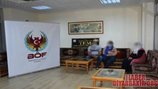 Siirt'te Teslim Olan Örgüt Mensubu Ailesine Kavuştu
